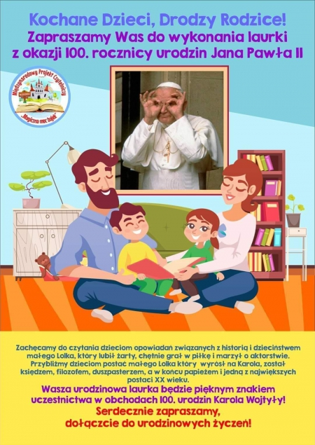 Rocznica urodzin Jana Pawła II