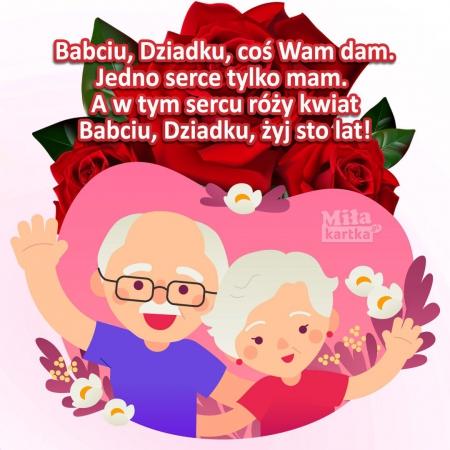 Biedronki i Niezapominajki z okazji Dnia Babci i Dnia Dziadka