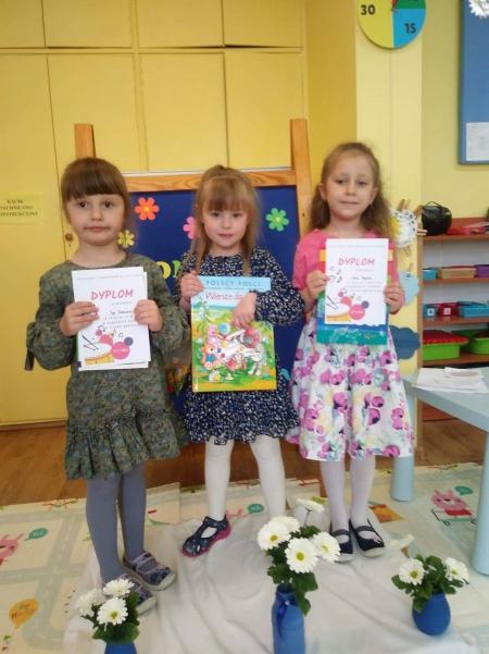 Konkurs ''Let's sing'' Słoneczka i Misie